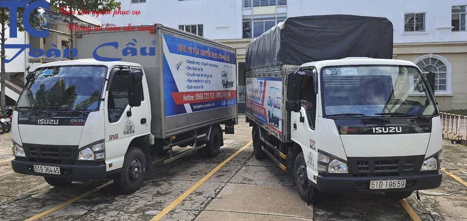 xe tải chở hàng đi tỉnh